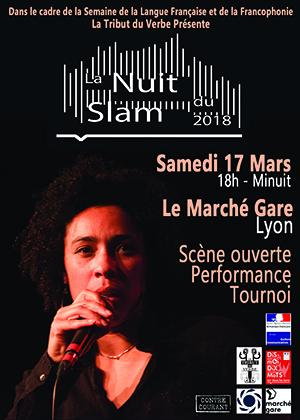 La Nuit du Slam 2018 à Lyon