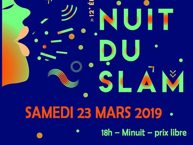 La Nuit du Slam 2019 à Lyon