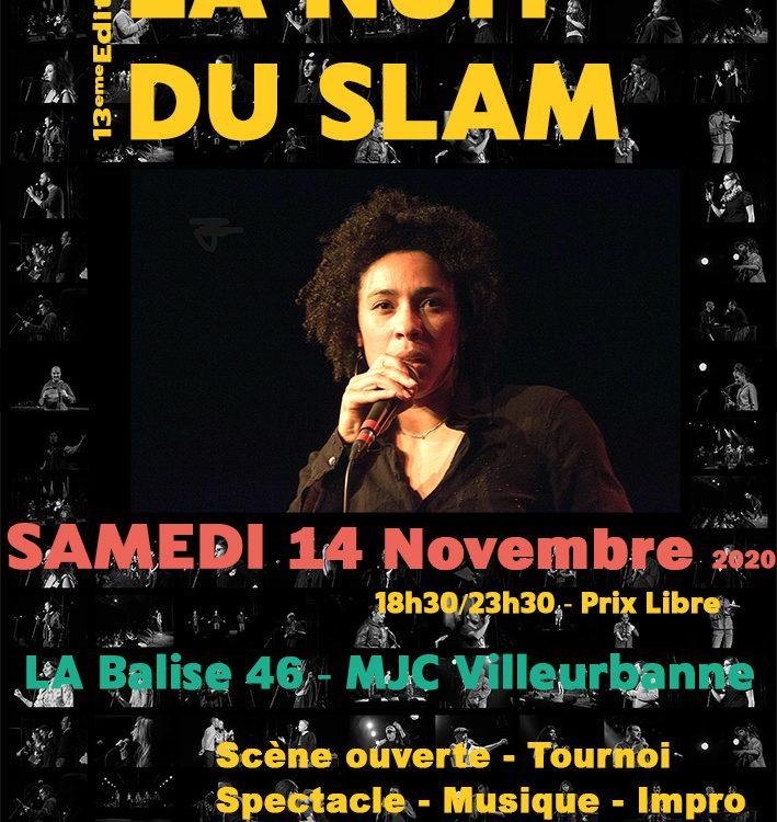 La Nuit du Slam de Lyon 2020